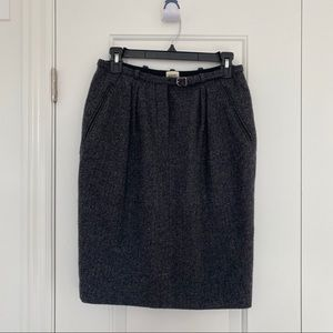 Authentic HERMES 100% Cashmere Skirt